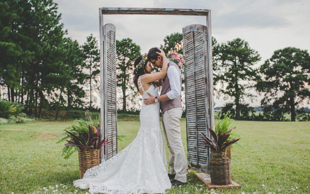 Na Mídia: Casamento Boho-Vintage